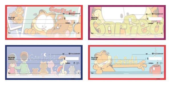 Garfield Personal Checks