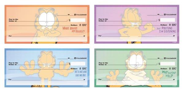 Garfield the Cat Attitude Checks