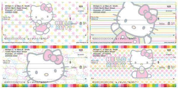 Hello Kitty Colors Personal Checks