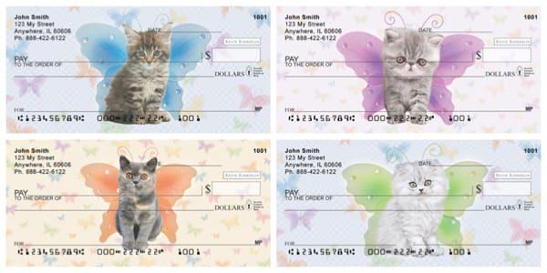 Keith Kimberlin Fairy Kitties Checks