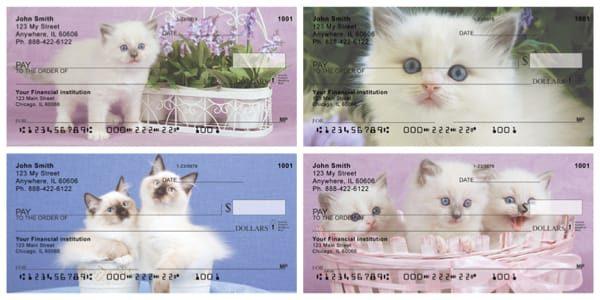 Ragdoll Kittens Personal Checks