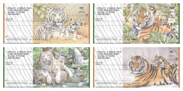 Tigers Personal Checks