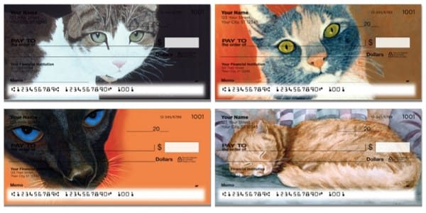 World of Cats Personal Checks